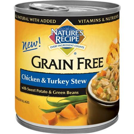 Natures recipe grain free chicken turkey stew canned dog food natures recipe grain free chicken turkey stew canned dog food forumfinder Gallery