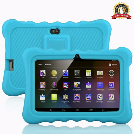 "Learning Tablets, 7"" Kids Tablet with WIFI Light Weight Portable Shock-Proof Silicone Case Kick stand Available For Kids - image 11 of 11"