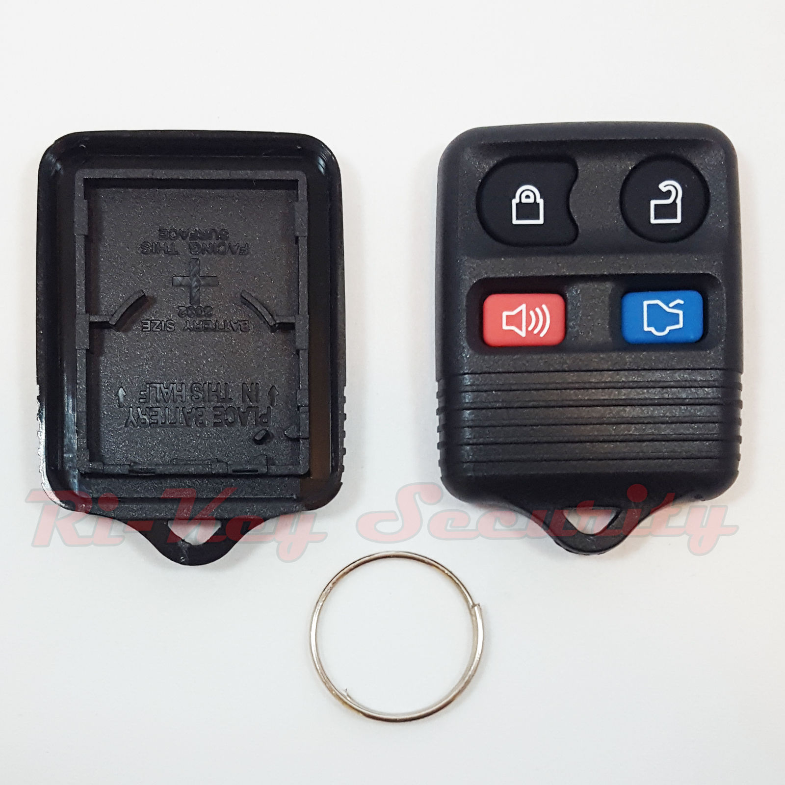 New Ford Replacement Alarm Remote Shell Pad Button Keyless Key Fob Case  Button