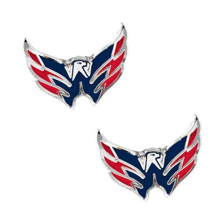 NHL Washington Caps Capitals Sports Team Logo Post Stud Logo Earring Set Charm - image 1 de 1