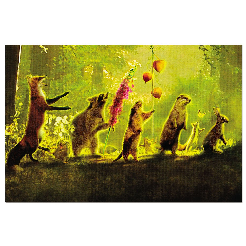 Tree-Free Greetings Secret Parade Boxed ECO Notes Blank Note Cards-FS56704