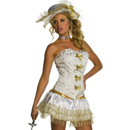 Sexy Musketeer Victorian Belle Of The South Womens Halloween Costume Set S-L - Halloween Bar Events South Jersey