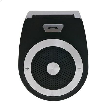Wireless Bluetooth 4.1 Car Adapter Speaker Receiver Sun Visor Car Charger  Speakerphone Car Stereo Hands- e92a55cb98e