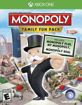 Monopoly Family Fun Pack Xbox One by Xbox One