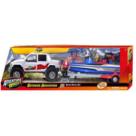 adventure wheels bass boat adventure play set. Black Bedroom Furniture Sets. Home Design Ideas