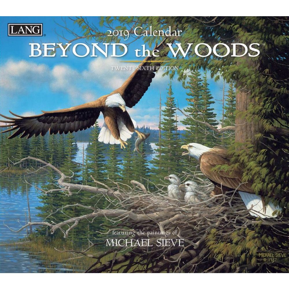 2019 WALL CALENDAR, BEYOND THE WOODS