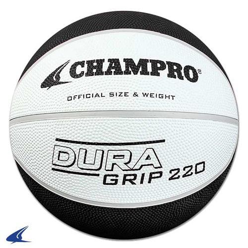 CHAMPRO Super Grip Rubber Basketball Women's White/Black