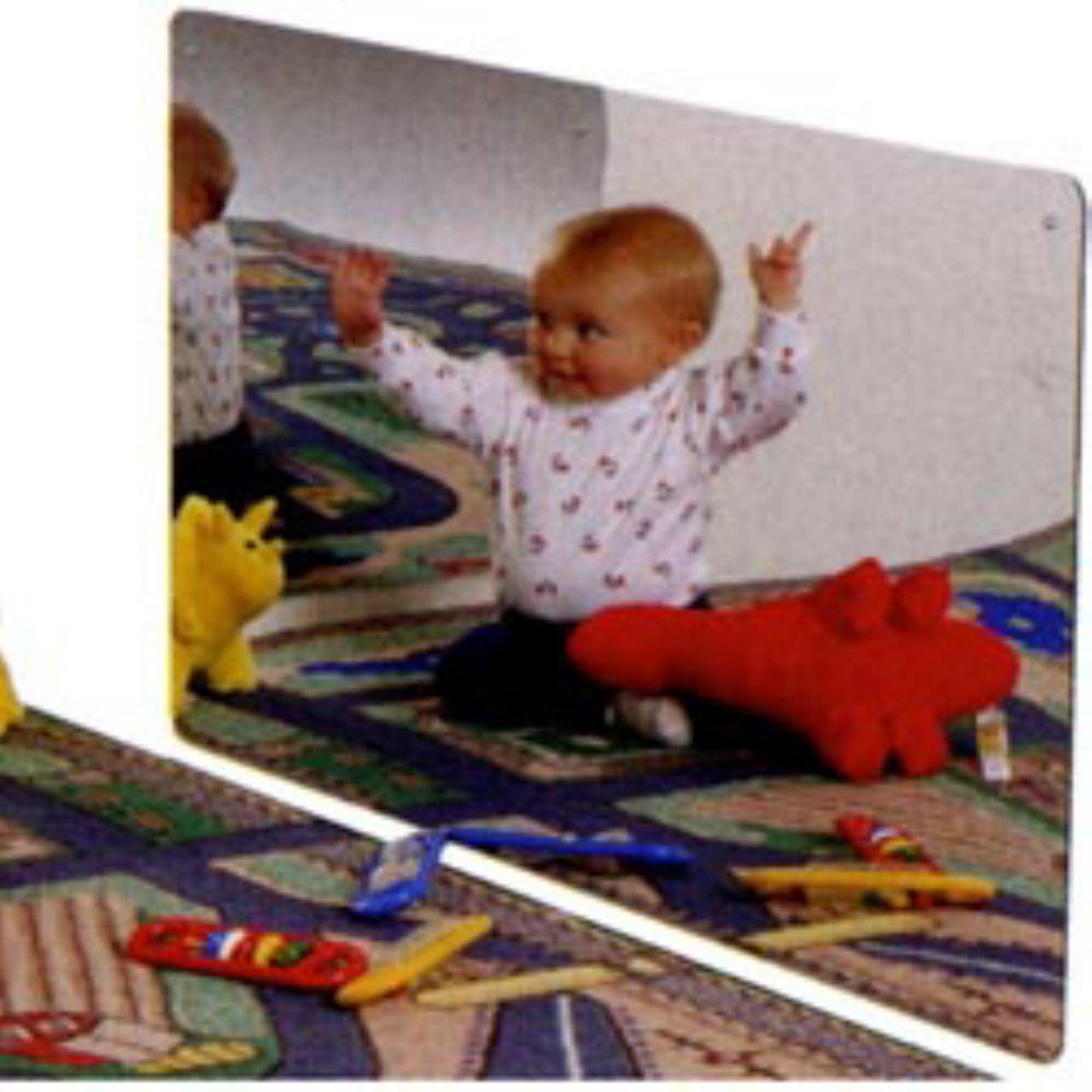 Kids Safe Frameless Acrylic Mirror by Jonti-Craft