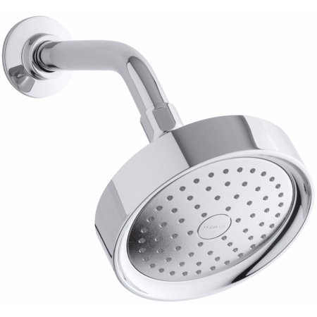 KH K-965-AK-CP Purist 2.5 Gpm Single-function Wall-mount Showerhead with Katalyst Air-induction Spray Polished Chrome
