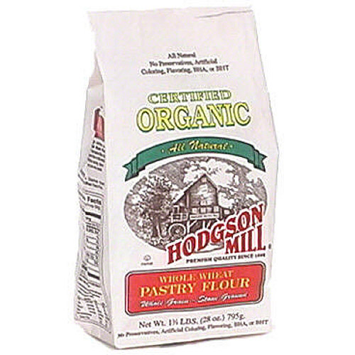 Hodgson Mill Organic Whole Wheat Pastry Flour, 28 oz (Pack of 6)