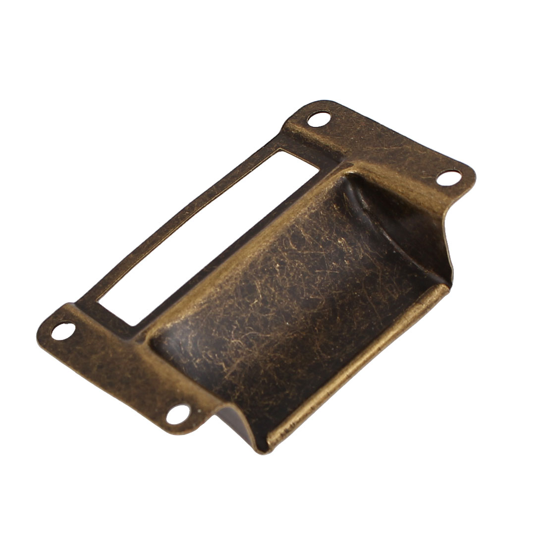 20pcs 70x33mm BTMB Office Library File Drawer Tag Antique style Label Holder Bronze Tone