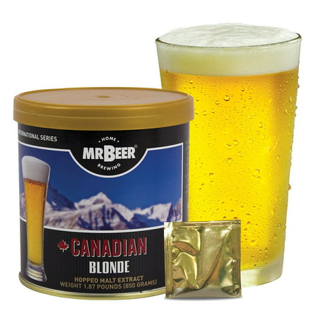 Mr. Beer Canadian Blonde Beer Making Refill Kit