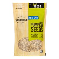 Woodstock Seeds - All Natural - Pumpkin - Pepitas - Shelled - Raw - 10.5 Oz