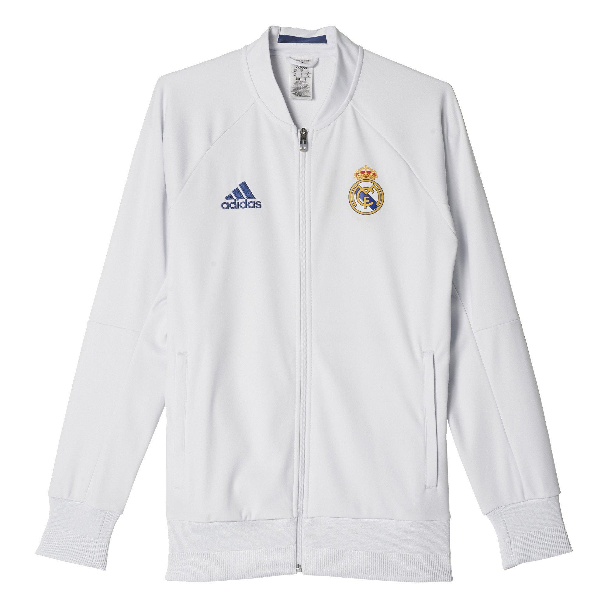 Adidas Men's Real Madrid Anthem Track Jacket
