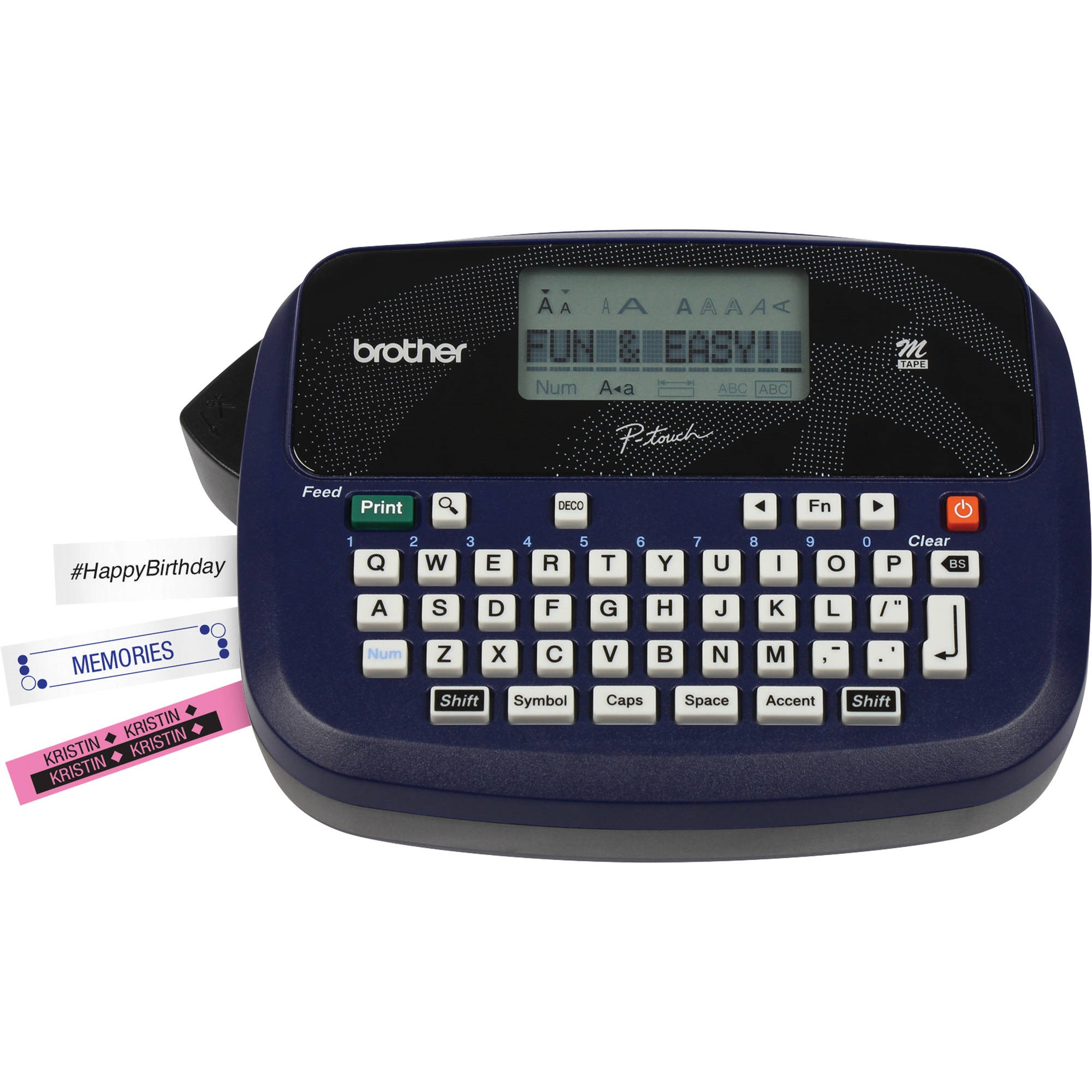 This is a picture of Modest Handheld Label Maker Walmart