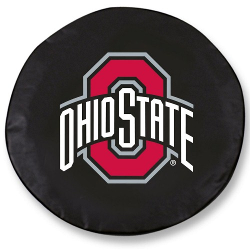 Ncaa Tire Cover By Holland Bar Stool Ohio State Black