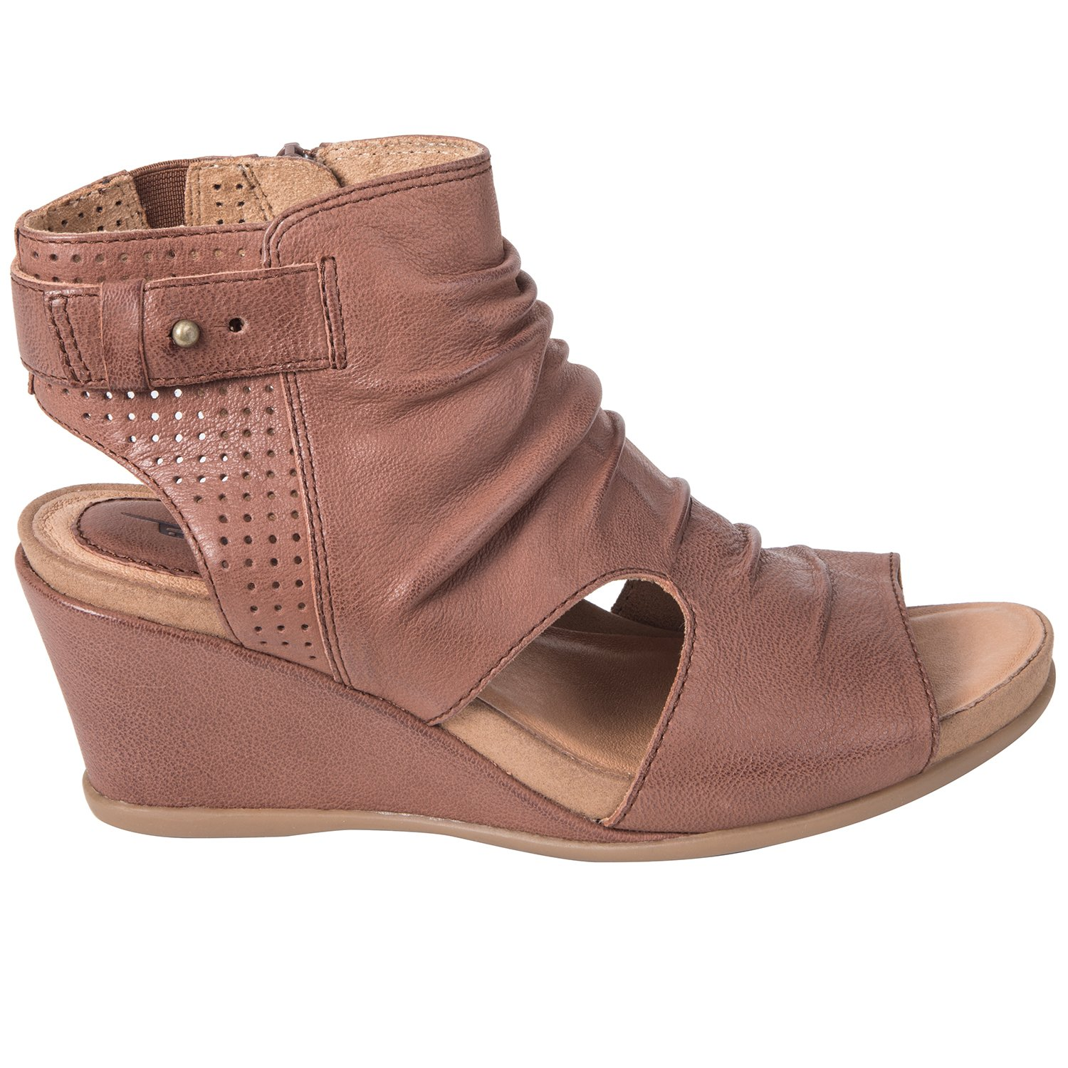 b2282bcbe97 Kalso Earth Shoes Womens Sweetpea Leather Open Toe Casual Ankle
