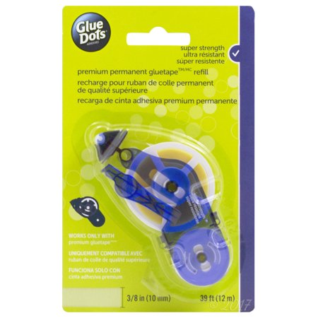 Glue Dots Permanent Glue Tape Refill, 1 Each