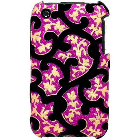 Velvet Series Glitter Back Cover for iPhone 3G / 3GS (Best Flashlight App For Iphone 3gs)
