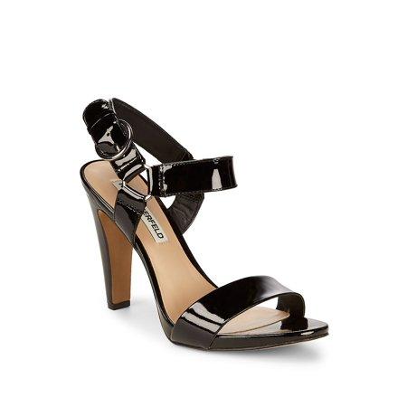 Cieone Leather Ankle-Strap Sandals Donald J Pliner Black Sandals