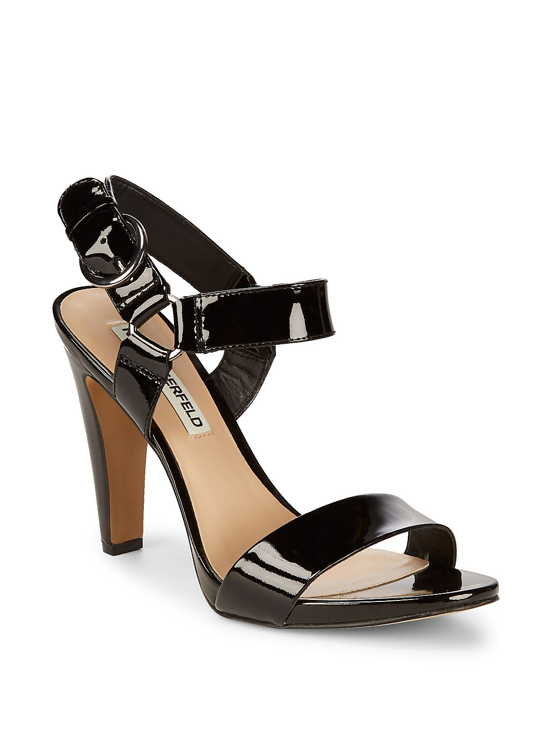 Cieone Leather Ankle-Strap Sandals