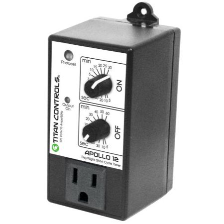 Cycle Timer (Titan Controls Apollo 12 - Short Cycle Timer with Photocell)