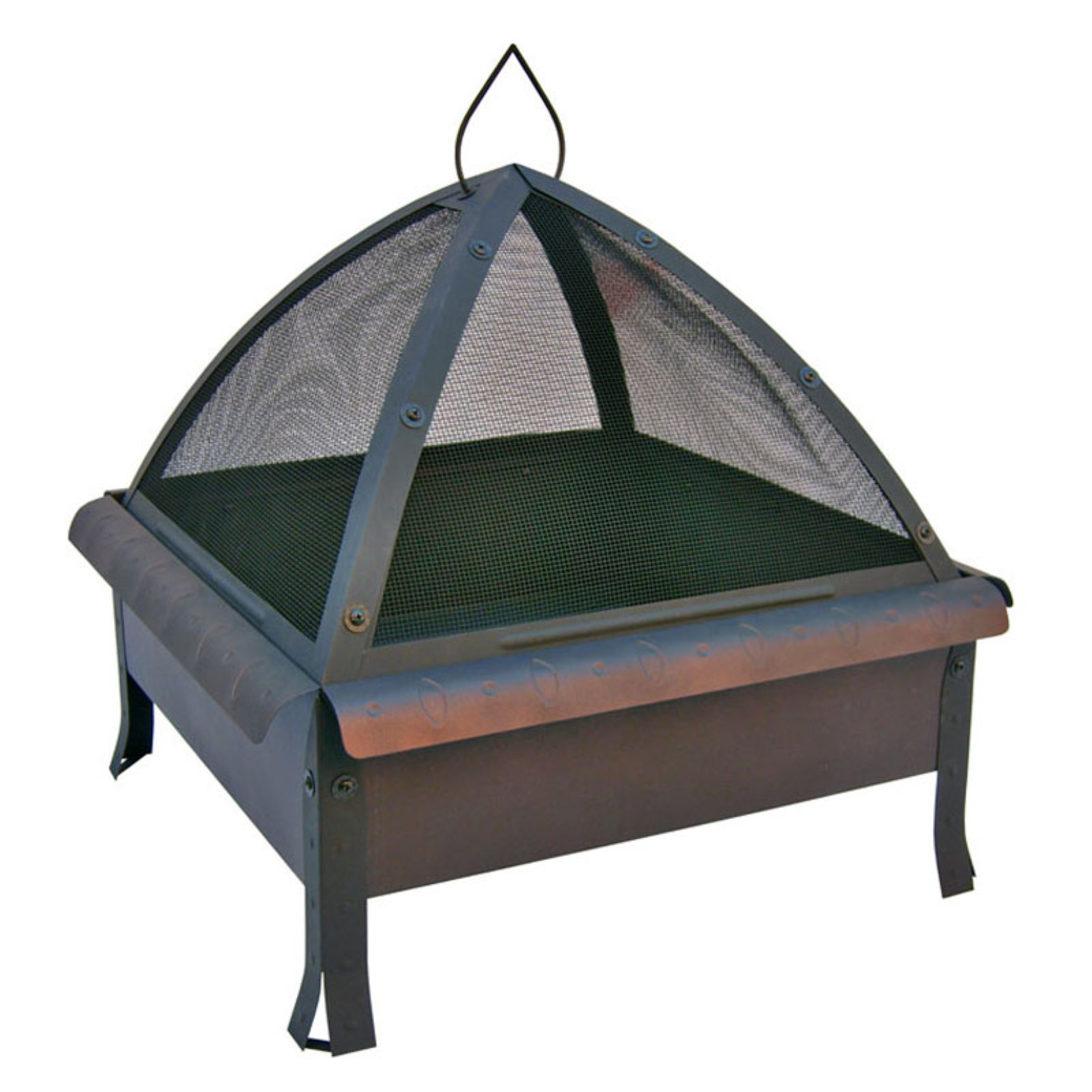 Landmann Tudor 24 x 24 in. Square Fire Pit with  FREE Cover