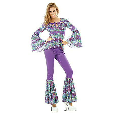 Boo! Inc. Disco Diva Women's Halloween Costume Foxy 70's Night Fever Boogie Dancer - 70's Womens Halloween Costume