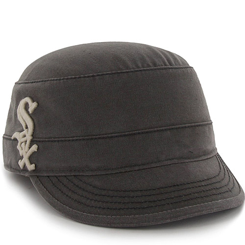 Chicago White Sox '47 Women's Honey Creek Military Adjustable Hat - Charcoal - OSFA