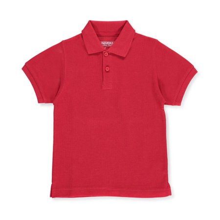 - Unisex Boys Girls Short Sleeve Pique Polo Shirt w/Stain Release (2T-20)