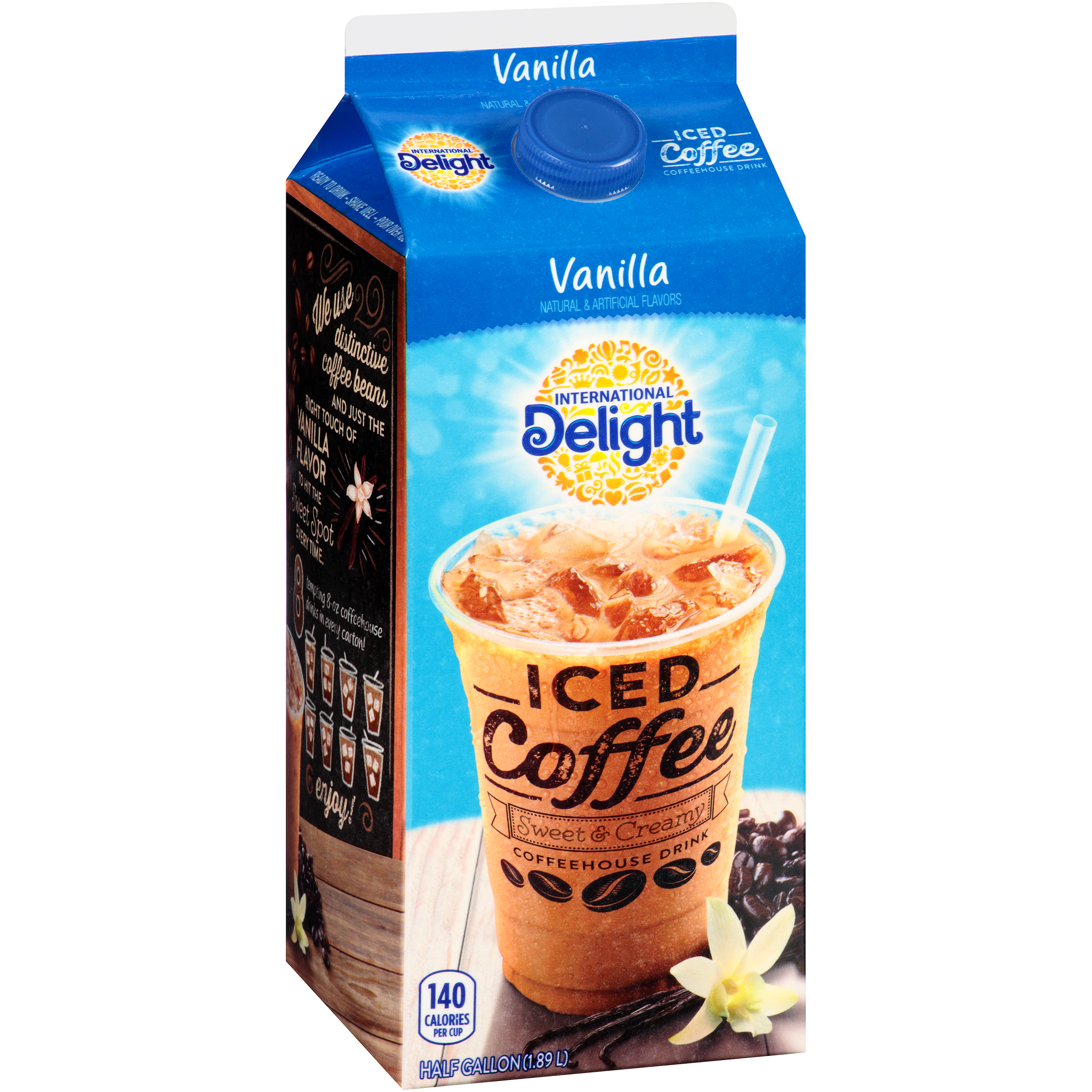 International Delight™ Vanilla Iced Coffee 0.5 gal. Carton