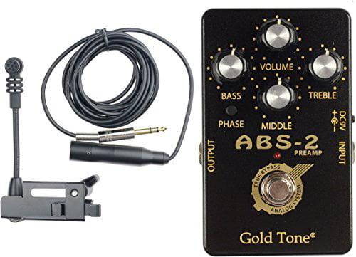 Banjo-Resonator Guitar Mic (Dynamic) by Gold Tone