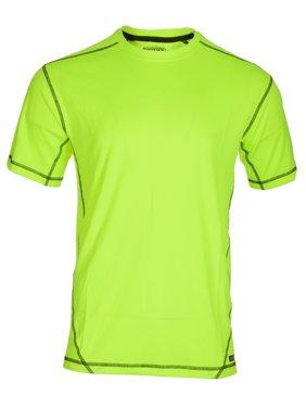 Men's Performance Contrast Crew T-Shirt
