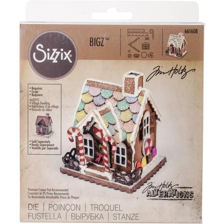 Sizzix Bigz Die By Tim Holtz Village Gingerbread  375   To 2 375