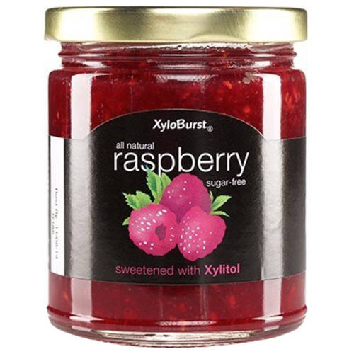 XyloBurst Sugar-Free Raspberry Jam, 10 oz, (Pack of 2)