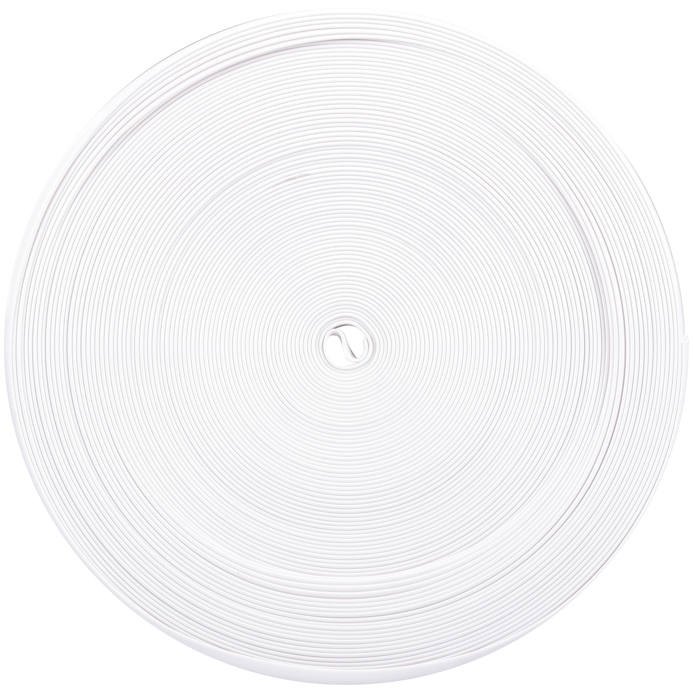 "CAMCO 1"" White Vinyl Insert, 100 ft"