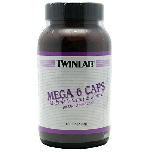 Mega 6 Caps Twinlab, Inc 180 Caps