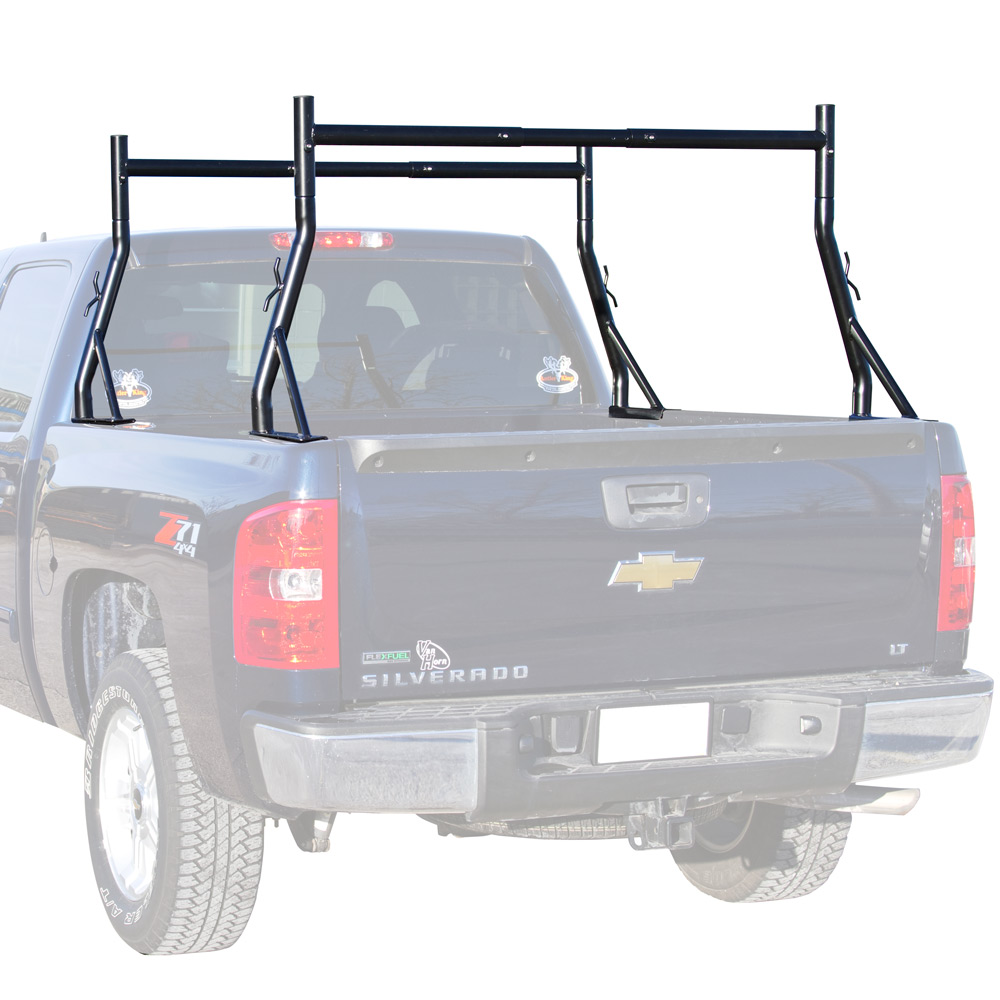 Deluxe Dual Support Pickup Truck Bed Ladder & Utility Rack