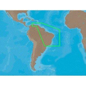 C-MAP NT SA-C004 - Puerto Bolivar-Rio De Janeiro - C-Card