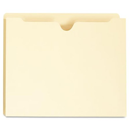 One Inch Expansion Letter - Manila File Jackets with Reinforced Tabs, One Inch Expansion, Letter