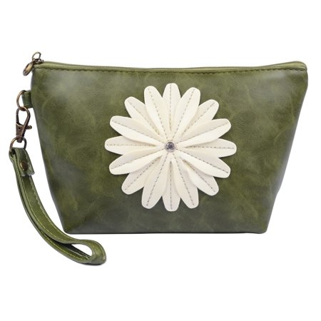 Lady Flower Hawaii Ascend Travel Pouch with Detachable Wristlet