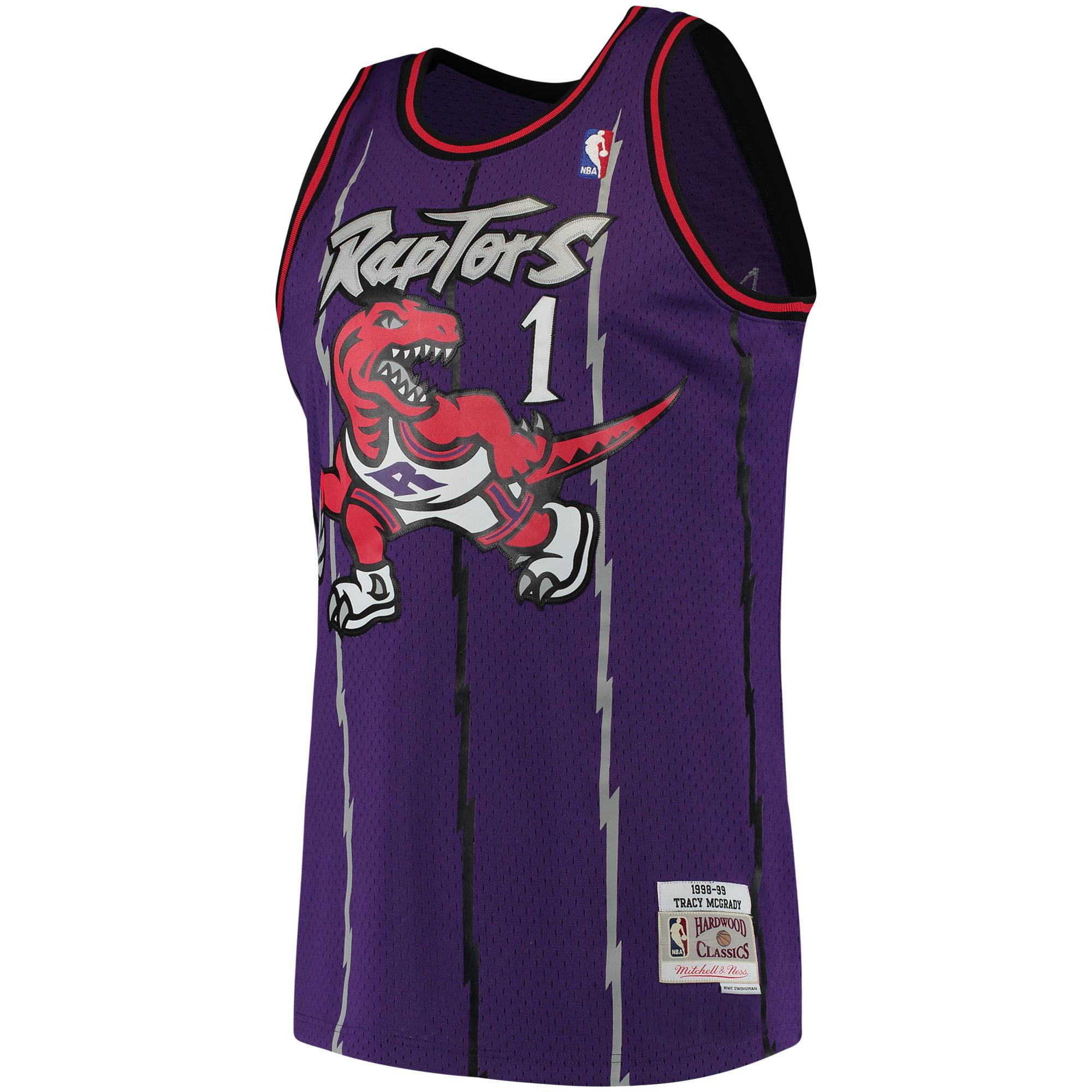 81e304dc3 Tracy McGrady Toronto Raptors Mitchell   Ness 1998-99 Hardwood Classics Swingman  Jersey - Purple - Walmart.com