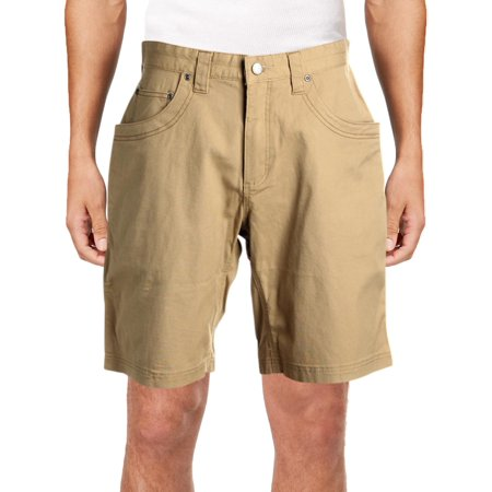 Logo Print Khaki (Mountain Khakis Mens Camber Logo Lightweight Walking Shorts)