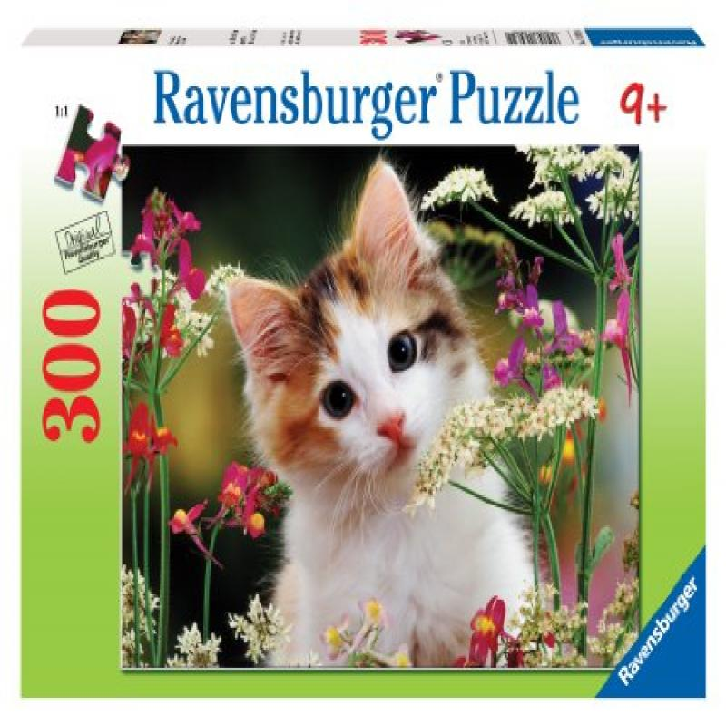Ravensburger Flowery Kitty - 300 Pieces Puzzle