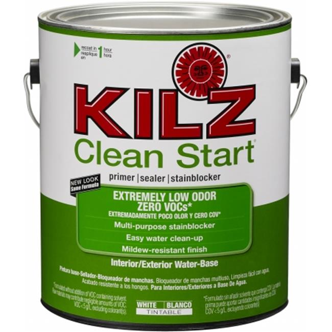 Masterchem L211011 1 Gallon Kilz Clean Start Interior & Exterior Water-Base Pri - Pack of 4
