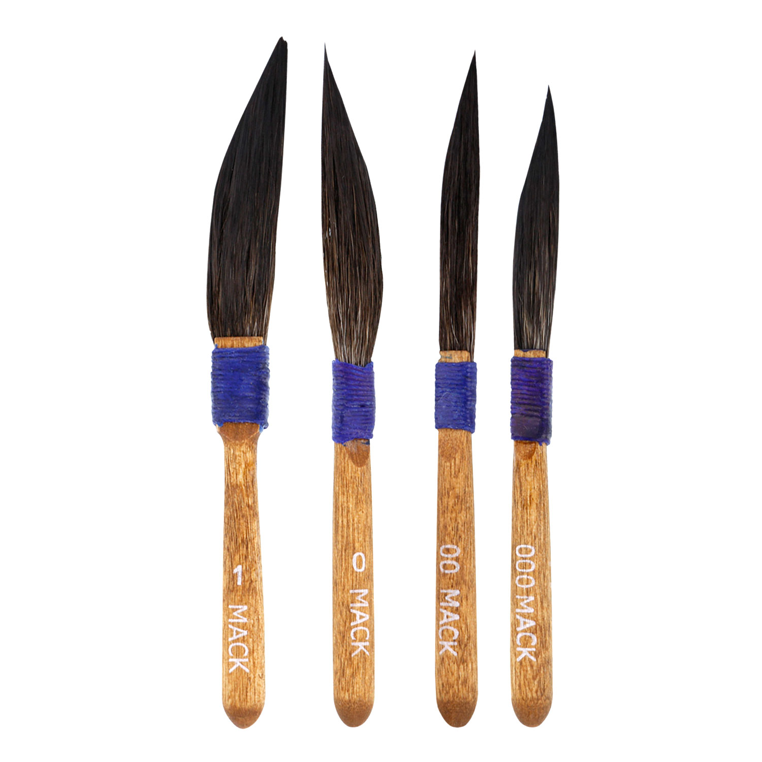 MACK Sword Pinstripe/Pinstriping Assorted Brush 10-1,0,00,000