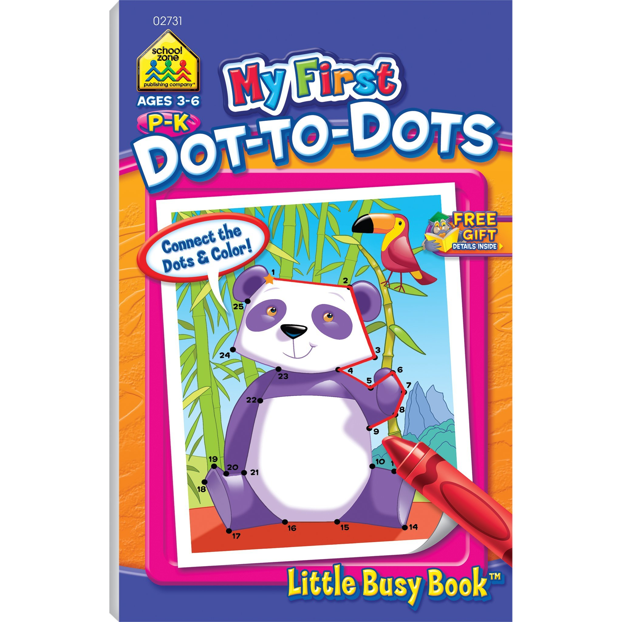 My First Dot-To-Dots By Non-License (Hardcover)