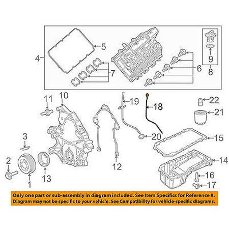 Dodge Chrysler Oem 15 16 Charger 6 2l V8 Engine Oil Fluid Dipstick
