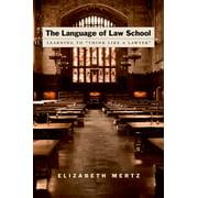 The Language of Law School - eBook