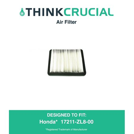 Premium Air Filter Fits Honda Part   17211 Zl8 023  17211 Zl8 000  17211 Zl8 003  Stens   102 713    Napa   7 08383  By By Think Crucial